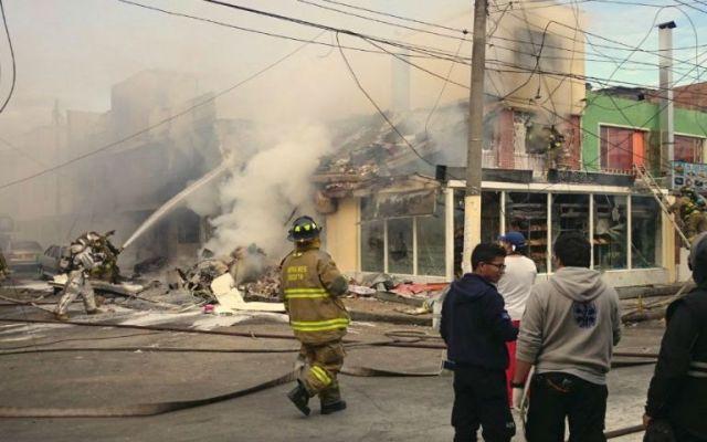 Video: caída de un avión en panadería de Bogotá - Foto de RCN