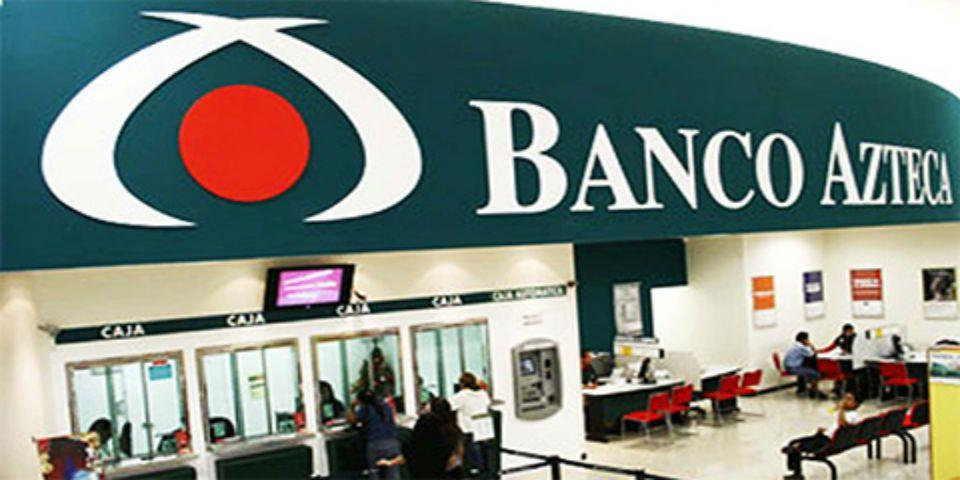 Roban 35 mil pesos de sucursal de Banco Azteca - Foto de Internet