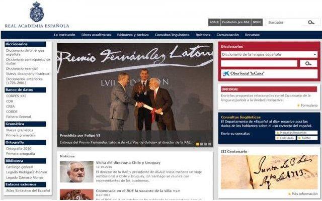 Ya está en línea el nuevo Diccionario de la RAE - Foto de internet/ El Universal