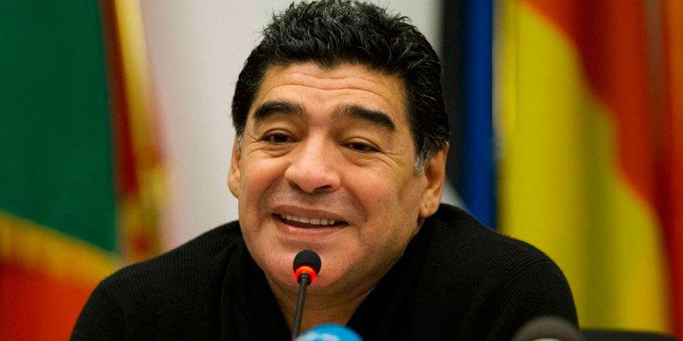 Maradona será director general de fundación en AL - Diego Armando Maradona. Foto de Infobae