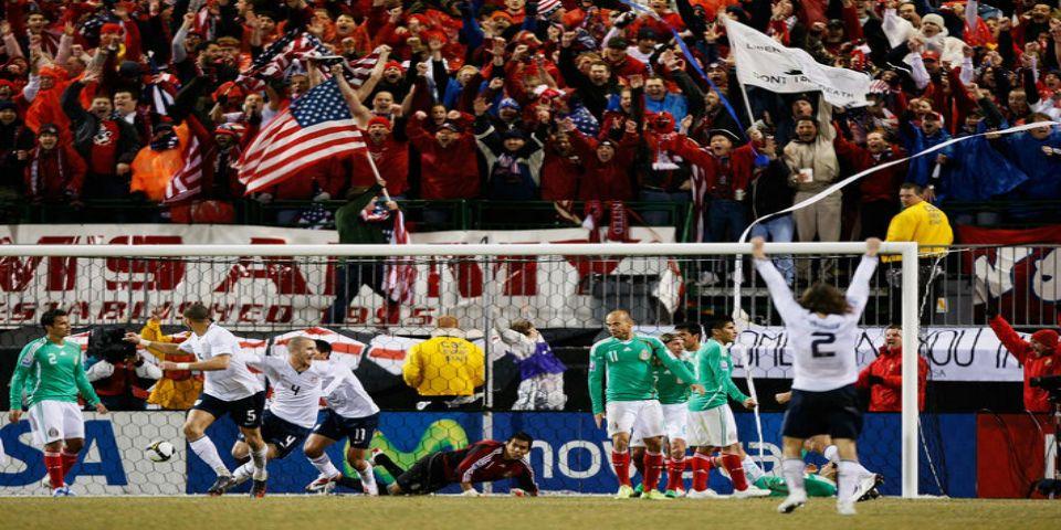 Las diez derrotas más dolorosas de México ante Estados Unidos - Foto de SB Nation