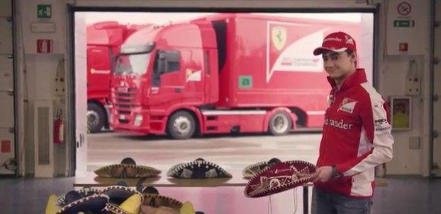 Video: Ferrari ya tiene maestro para el GP de México - Esteban Gutiérrez.// Foto capturada del video