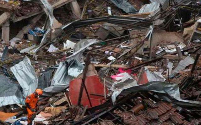 Explosión en Río de Janeiro daña inmuebles y deja 8 heridos - Foto de Noticieros Televisa