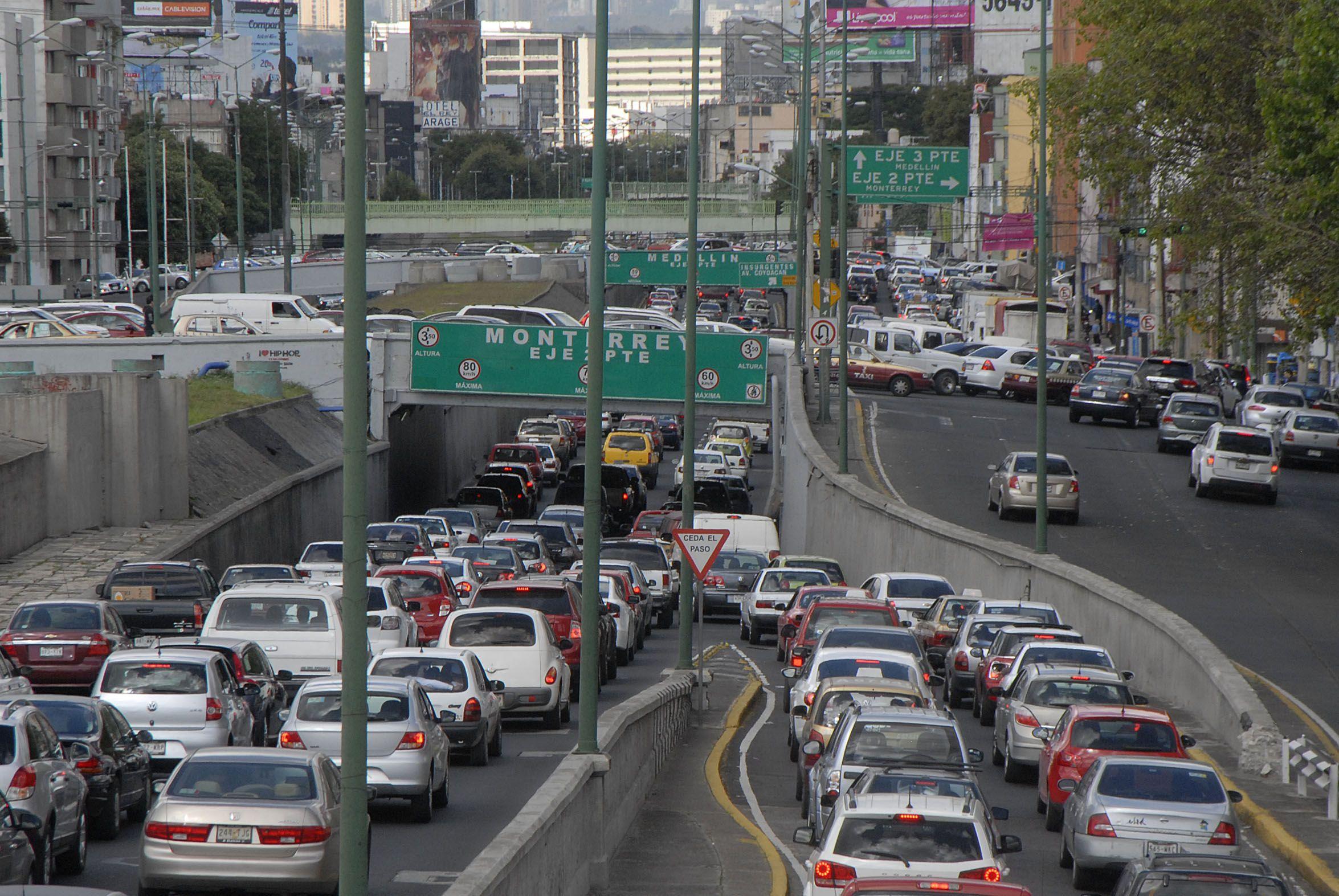 Trafico ciudad de mexico