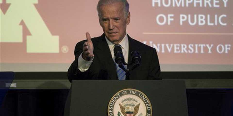 Joe Biden se descarta como candidato presidencial - Foto de AP