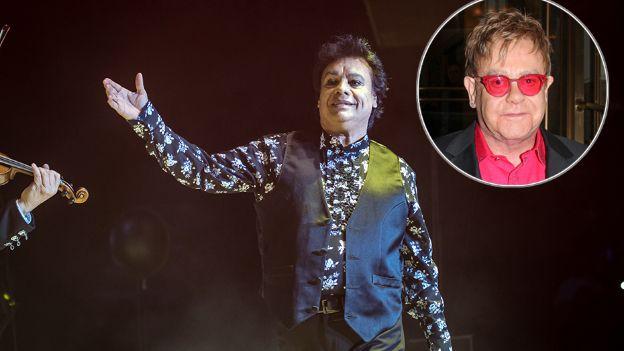 Juan Gabriel y Elton John podrían cantar juntos - Foto de Televisa