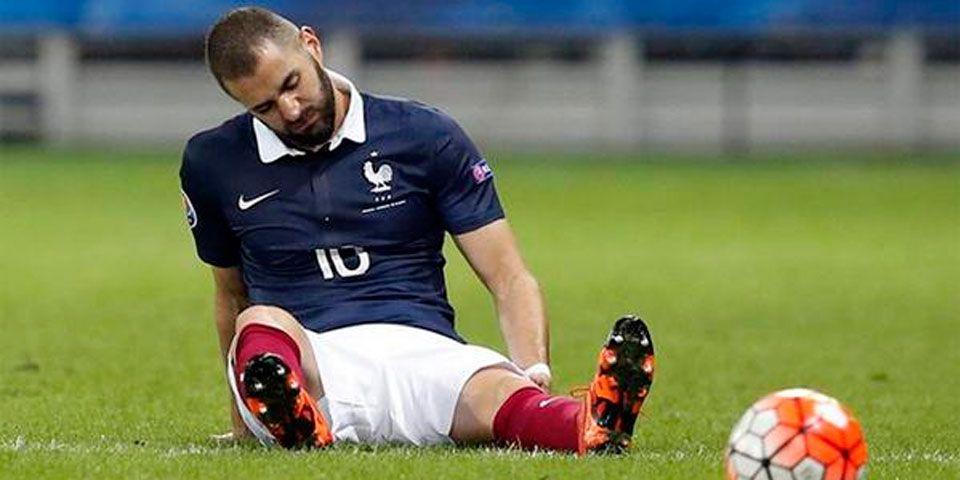 Karim Benzema causa baja por 3 semanas - Karim Benzema. Foto de AFP