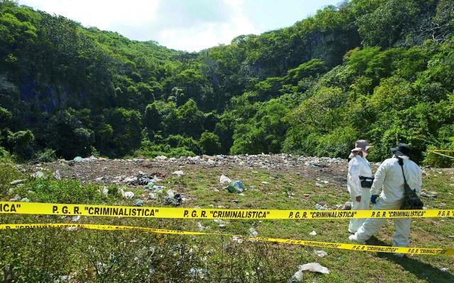 UNAM refuerza versión de que no hubo incendio en basurero de Cocula - Basurero de Cocula
