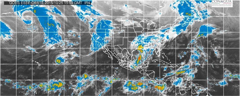 Frente Frío 8 y Patricia provocarán más lluvias