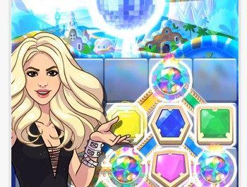 Shakira lanza su primer videojuego