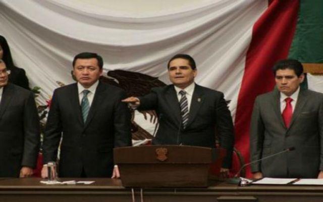 """Michoacán estaba en """"severa desestabilidad institucional"""": Aureoles - Foto de @AnaLiliaHerrera"""