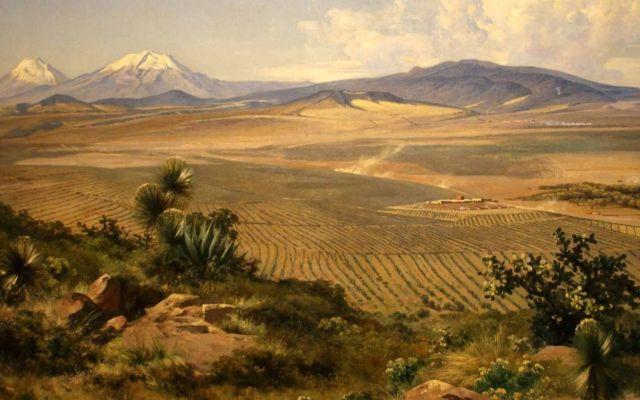 Exhiben obras de José María Velasco en Nueva York