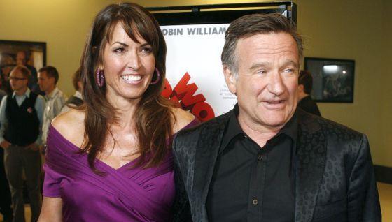 """""""No fue la depresión lo que lo mató"""": viuda de Robin Williams"""