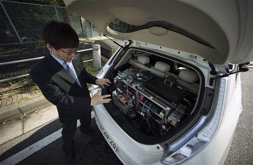 Nissan y Renault fabricarán auto eléctricos en China - Foto de archivo