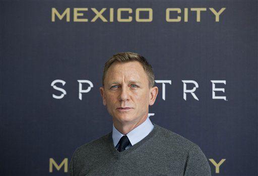 Daniel Craig presenta Spectre en México - Foto de internet