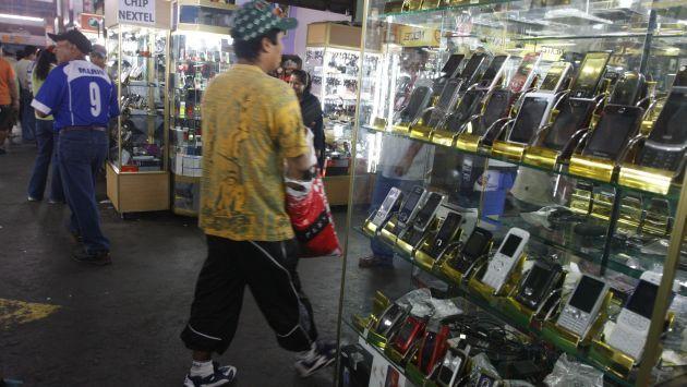 Muchos de los equipos robados son puestos a la venta casi de inmedito en lugares conocidos por la gente - Foto de internet