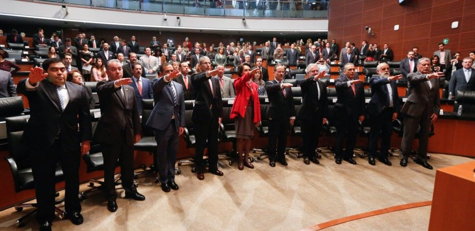 Conforman Consejo Consultivo de senadores - Foto del Senado de la República
