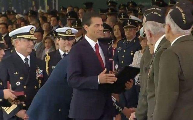 Condecoran a 18 veteranos de la Segunda Guerra Mundial - Foto de GobMx
