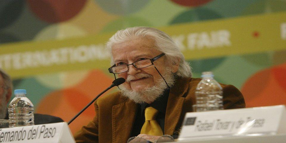 Charla de Ángeles Mastretta con Fernando del Paso, Premio Cervantes 2015
