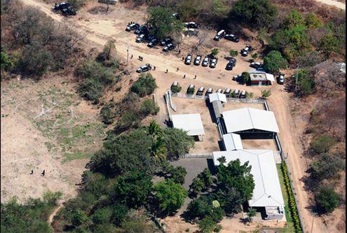 """Declaración de """"El Chino"""" revela nexos entre crimen organizado y ediles michoacanos - Rancho perteneciente a integrantes de La Familia Michoacana - Foto de Milenio"""