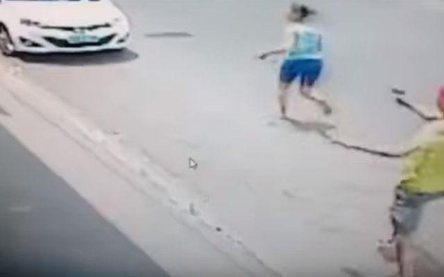 Video: policía militar de Brasil mata a su exnovia