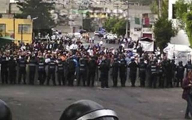 Segundo bloqueo en el poniente de la ciudad - Foto de Centro de Orientación Vial