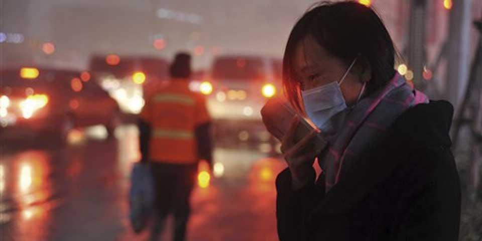 Contaminación en China alcanza niveles extremadamente peligrosos - Foto de AP