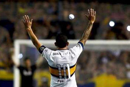 Tras su regreso al fútbol argentino Carlos Tévez agradece al público su apoyo - Foto de Twitter