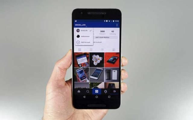 Instagram prepara opción para administrar más de una cuenta - Foto de Droid Life