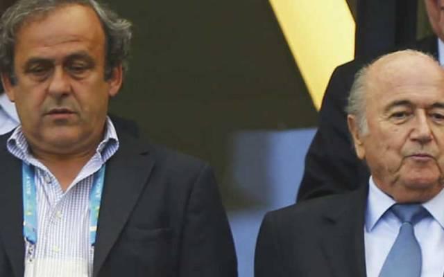 FIFA mantiene suspensiones a Blatter y Platini - Foto de Sky Sports
