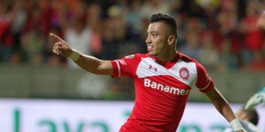 Toluca avanza a semifinales con un golazo de Uribe - Fernando Uribe - Foto de Twitter