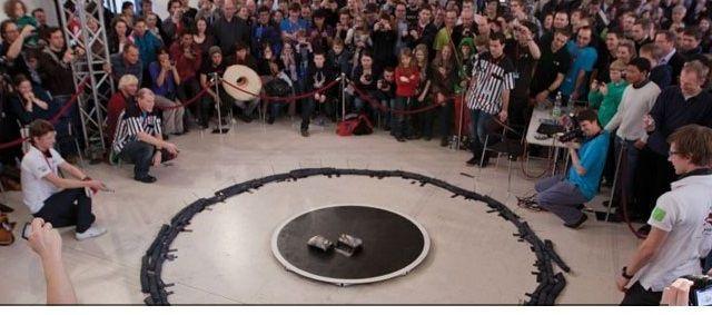 Estudiantes veracruzanos ganan concurso de robótica en Rumania