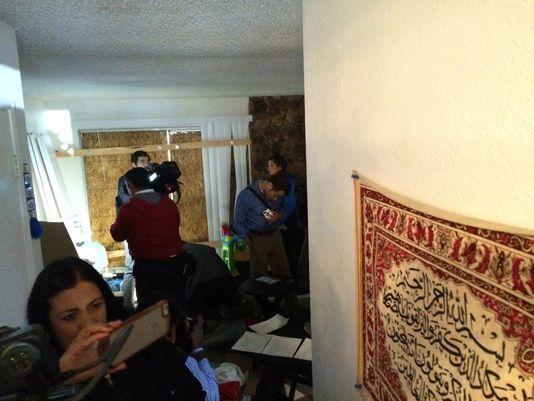 Video: la casa de los autores del ataque en San Bernardino - Foto de USA Today