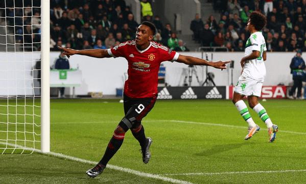 El United había arrancado con buen pie tras la anotación de Martial. Foto de @MailSport