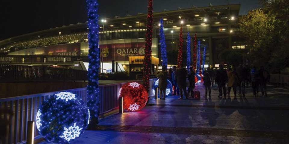 Llega la Navidad al Camp Nou - Foto de FC Barcelona