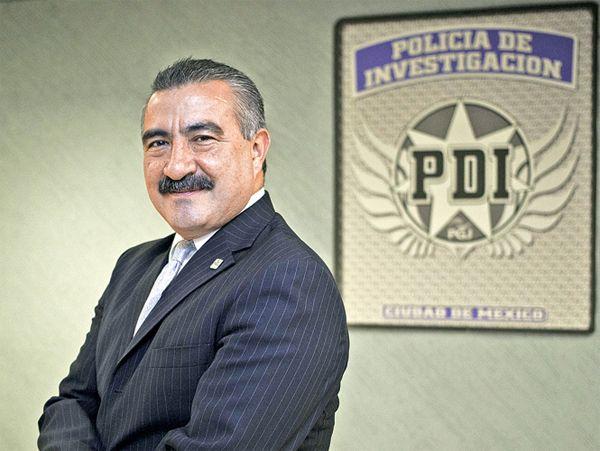 Raúl Peralta, jefe de la PDI. Foto de Internet