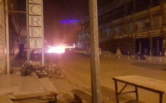 Tiroteos, explosiones y toma de rehenes en un hotel en Burkina Fasó