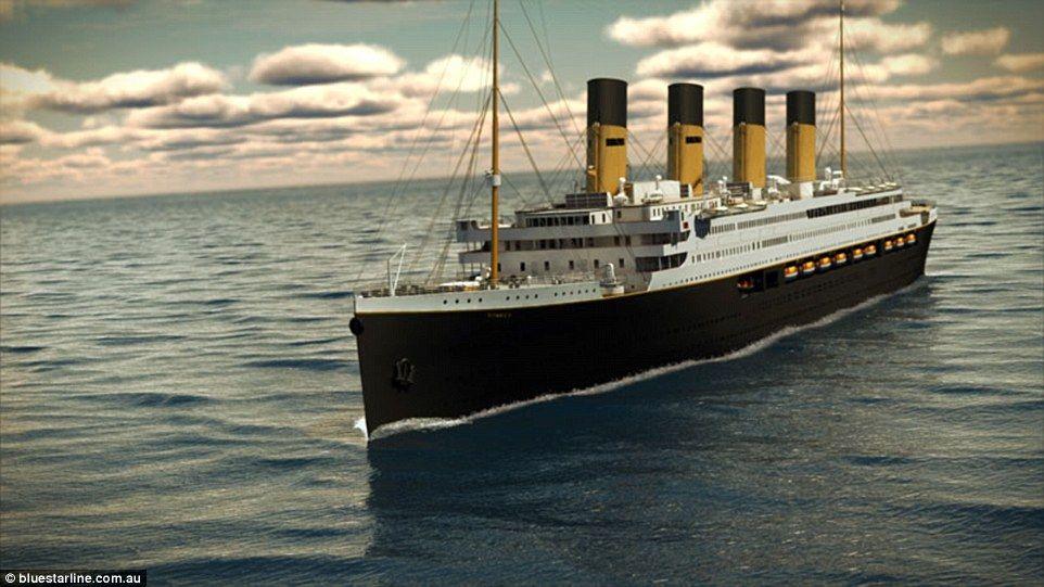 Expertos realizarán expedición a los restos del Titanic - Foto de Bluestarline