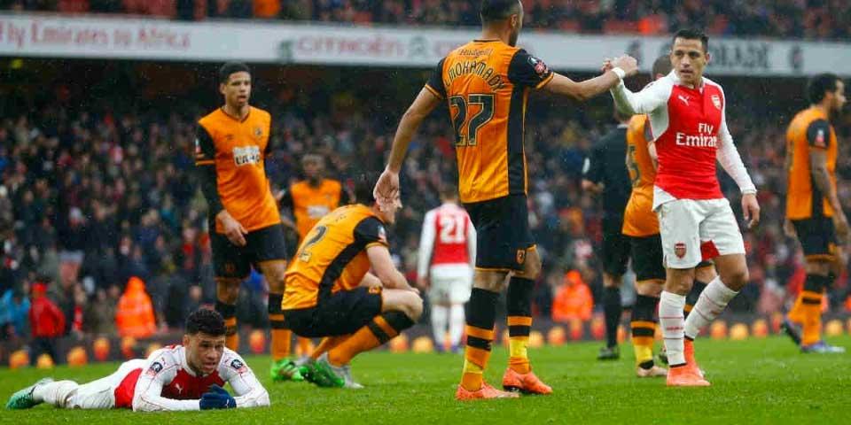 Arsenal empata sin goles con Hull en FA Cup - arsenal hull city fa cup