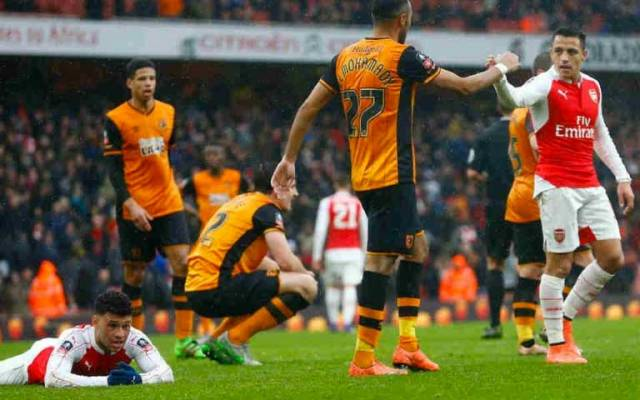 Arsenal empata sin goles con Hull en FA Cup - arsenal hull city fa cup