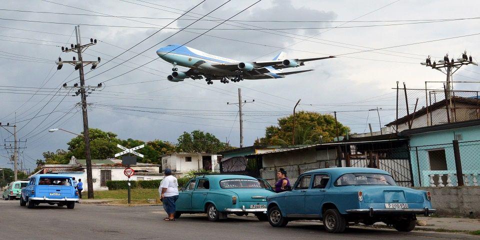 El autor de la foto más famosa de la visita de Obama a Cuba - Foto de Reuters.