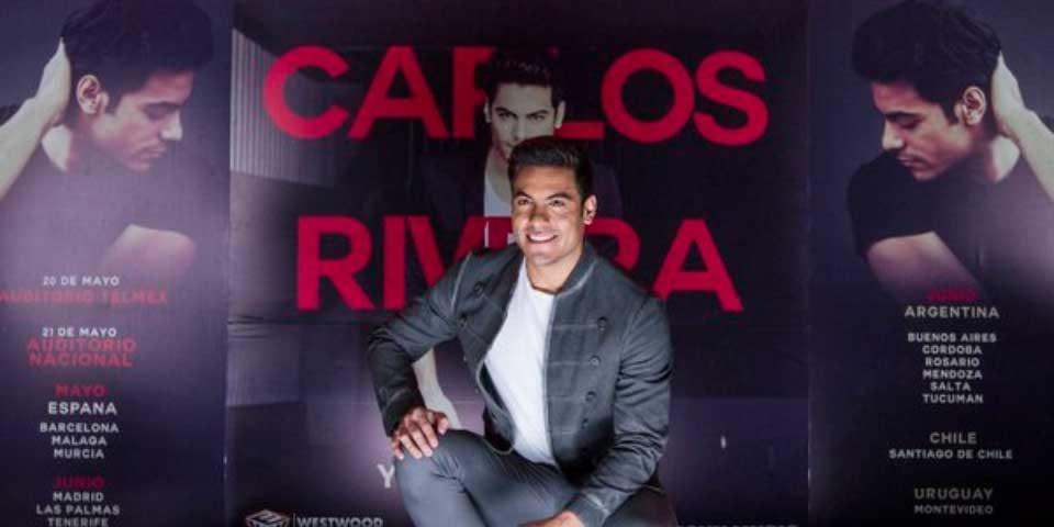 Anuncia Carlos Rivera conciertos en España - Foto de Notimex