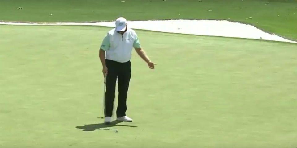 Video: increíbles fallas de un golfista en el Masters de Augusta - Foto de YouTube
