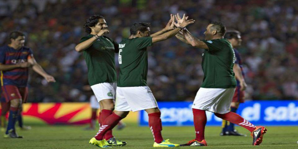 Leyendas de México vence a exjugadores del Barcelona - Foto de La Afición
