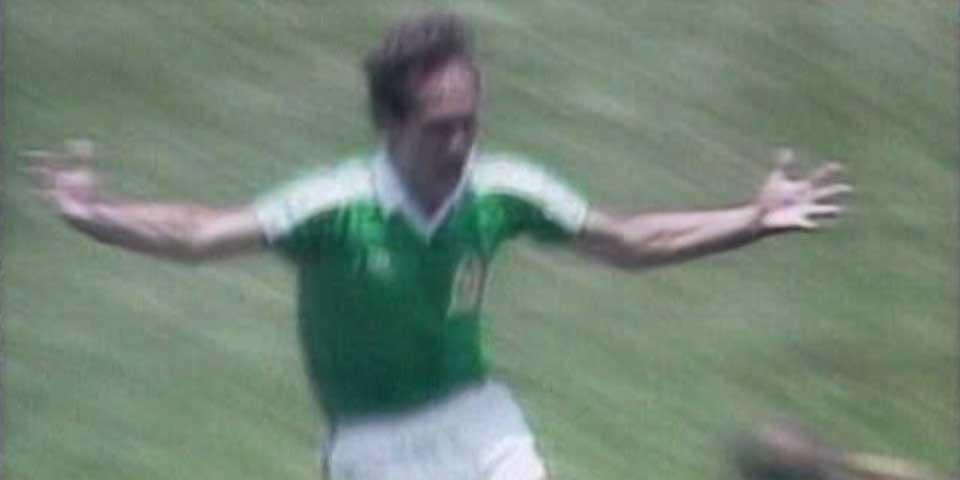 El primer gol del Tri en México 86 - Foto de Internet