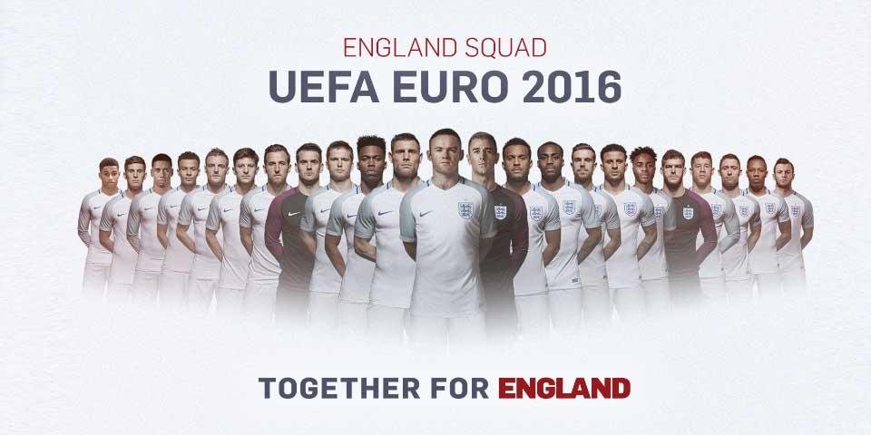 Pocas sorpresas en la lista de Inglaterra para la Euro - Foto de FA