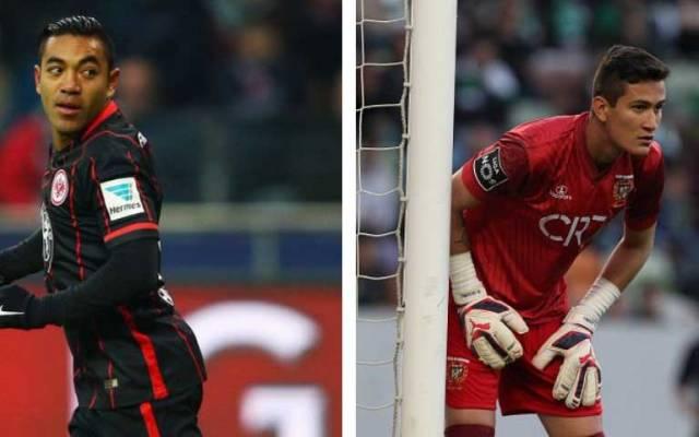 Marco Fabián y Raúl Gudiño se juegan la permanencia este fin de semana - Foto de Internet