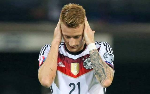 Alemania descarta a Marco Reus por lesión para la Euro - Marco Reus. Foto de The Sun