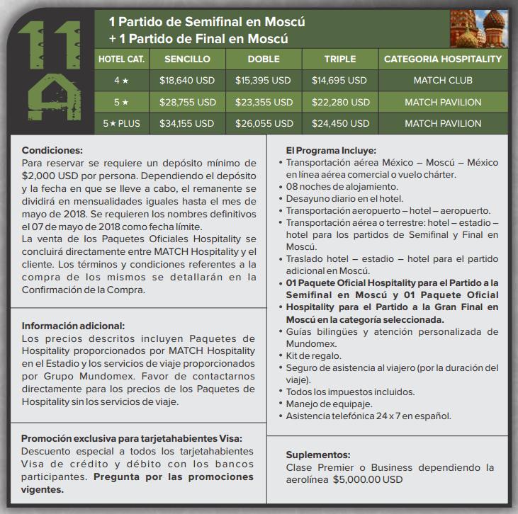 paquete mundomex 11a