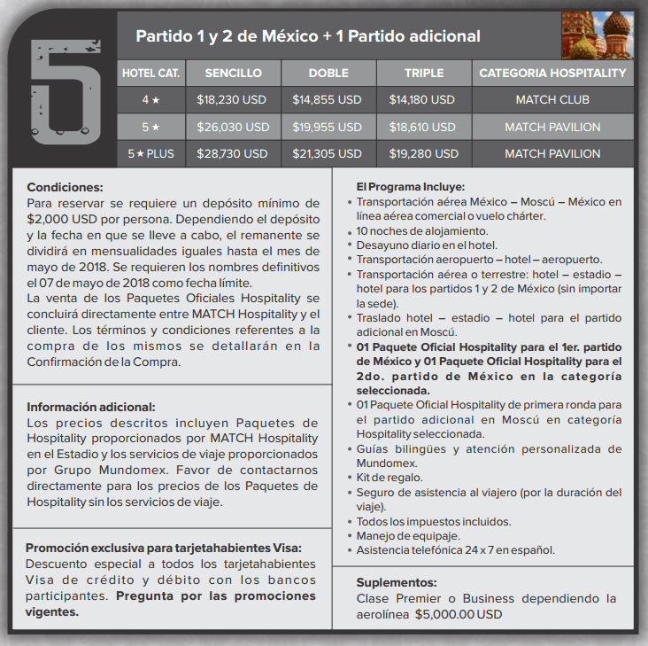 paquete mundomex 5